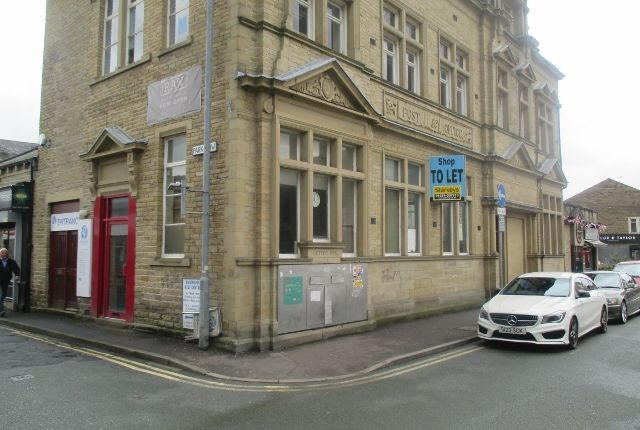 Thumbnail Retail premises for sale in Park Street, Brighouse