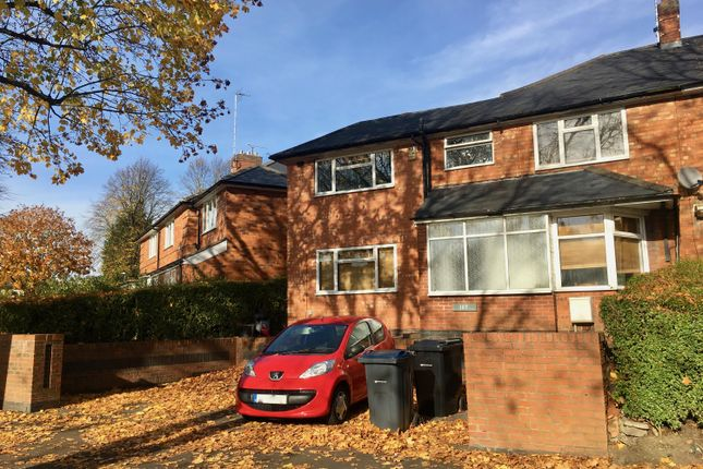 Thumbnail Semi-detached house to rent in Poole Crescent, Harborne, Birmingham