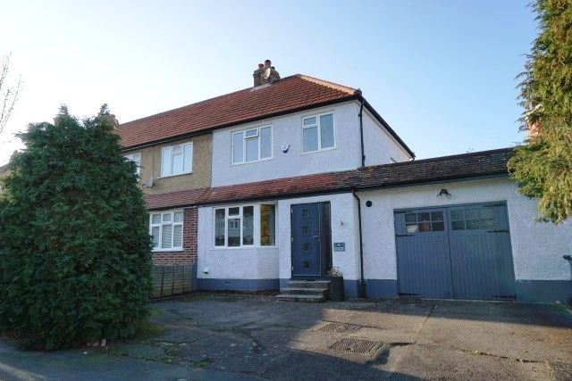 Thumbnail End terrace house for sale in Church Rise, Chessington