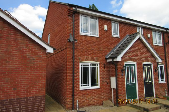 Thumbnail Semi-detached house to rent in Redbridge Close, Ilkeston
