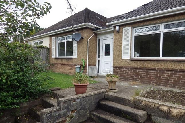 Thumbnail Semi-detached bungalow to rent in St. Annes Close, Newbridge, Newport.