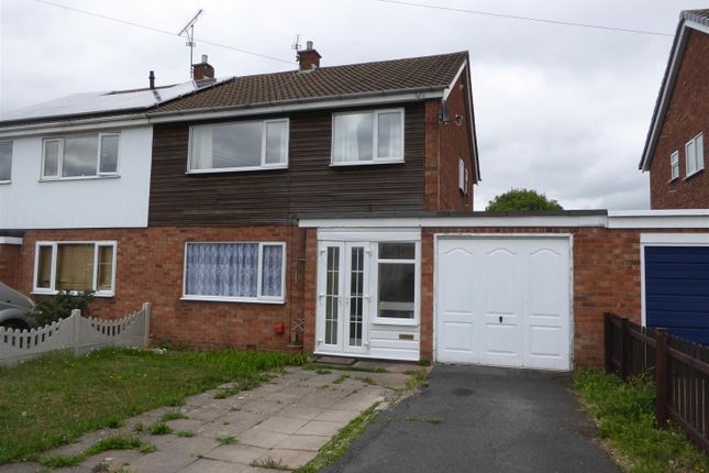 Thumbnail Semi-detached house for sale in Admaston Road, Wellington, Telford