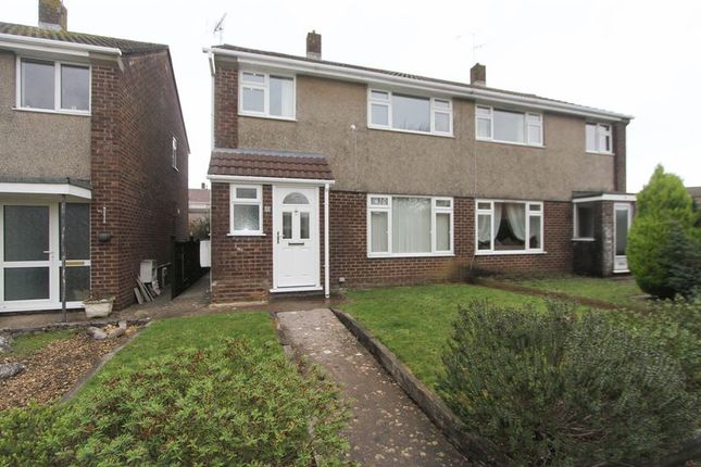 Thumbnail Semi-detached house to rent in Selworthy Gardens, Nailsea, Bristol