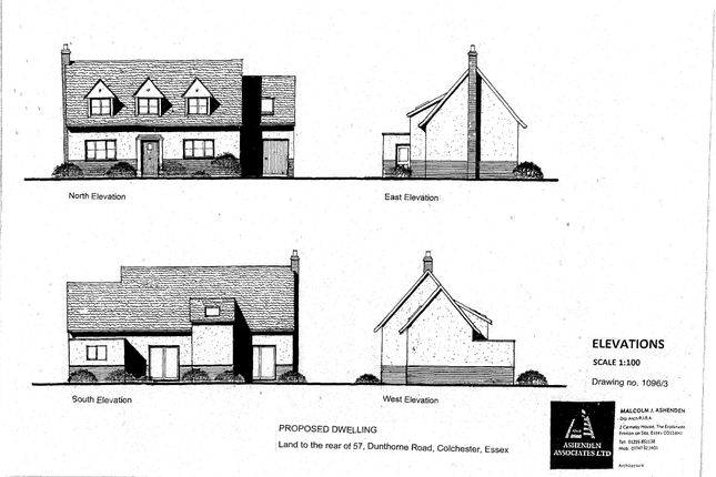 Thumbnail Land for sale in Dunthorne Road, Colchester