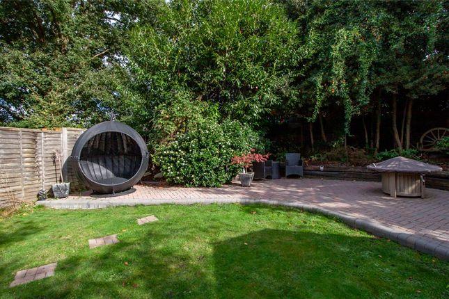 Garden of Coppice Gardens, Yateley, Hampshire GU46