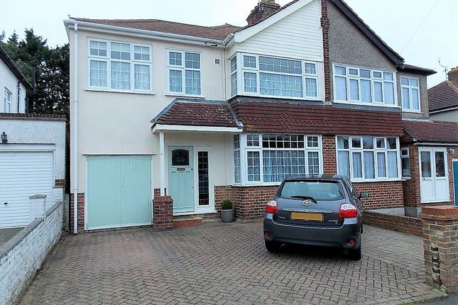 Semi-detached house for sale in Valley View Road, Rochester