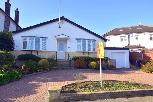 Thumbnail Detached bungalow for sale in Onslow Gardens, Grange Park