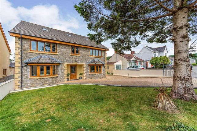 Thumbnail Detached house for sale in Glanffrwd Road, Pontarddulais, Swansea