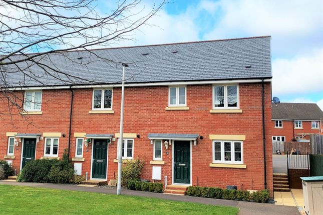 Thumbnail End terrace house to rent in Webbers Way, Tiverton