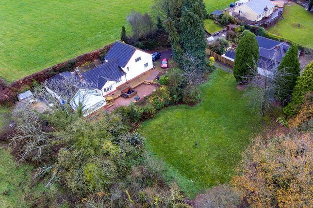 Thumbnail Detached house for sale in Maes Awelon, Talwrn Road, Legacy, Wrexham