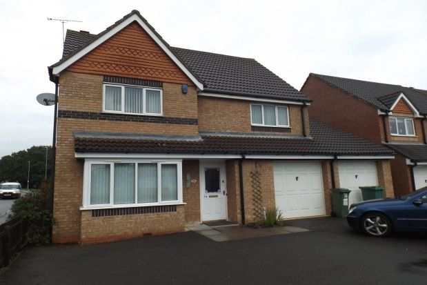 Thumbnail Detached house to rent in Jewsbury Way, Leicester
