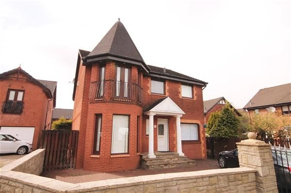 Thumbnail Detached house for sale in Balloch Road, Moffat Mills, Airdrie
