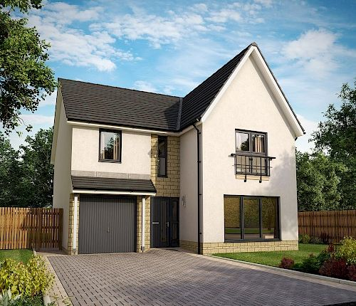Thumbnail Detached house for sale in Almondell At Ochiltree Drive, Mid Calder, Livingston