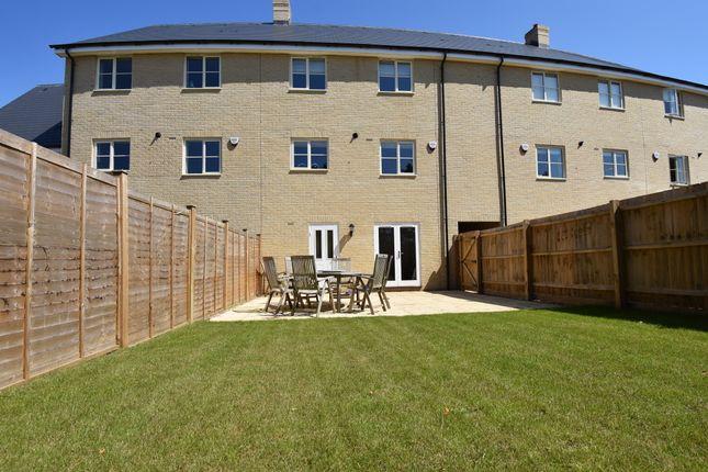Thumbnail Town house for sale in Bibbys Way, Framlingham, Woodbridge