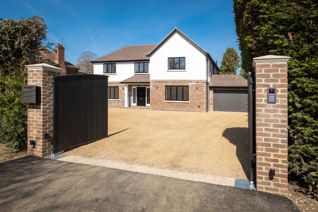 Thumbnail Detached house for sale in Guildford Lane, Hook Heath, Woking