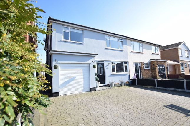 Thumbnail Semi-detached house for sale in Norwood Avenue, Clacton-On-Sea