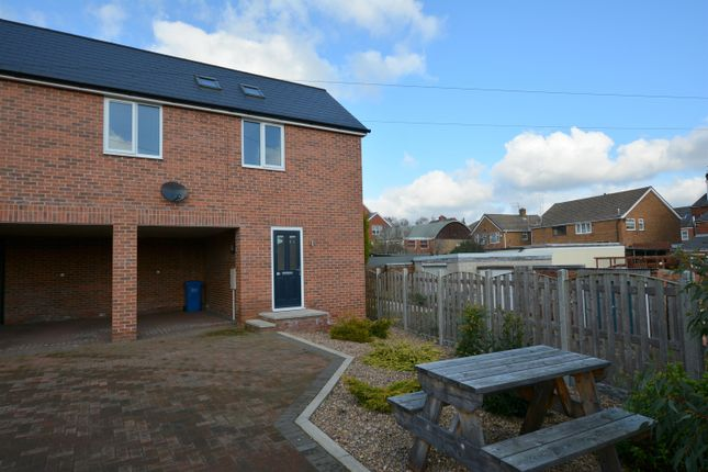 Thumbnail Semi-detached house for sale in South Street North, New Whittington, Chesterfield