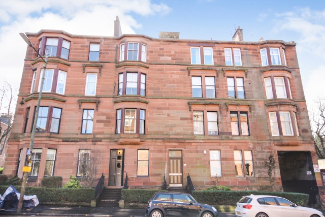Thumbnail Flat to rent in Clarence Drive, Hyndland, Glasgow, 9Rw