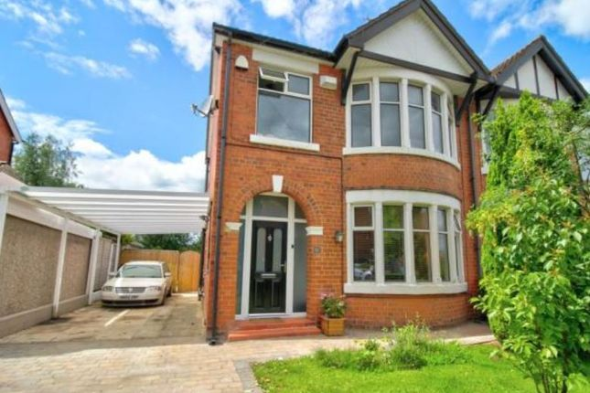 Thumbnail Semi-detached house to rent in Kingsway, Crewe