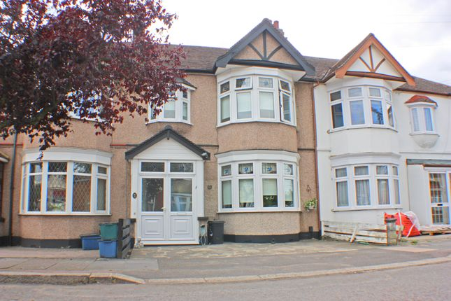 Thumbnail Terraced house for sale in Campbell Avenue, Barkingside