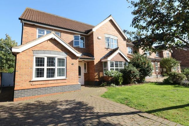 Thumbnail Detached house for sale in Burgon Crescent, Winterton, Scunthorpe