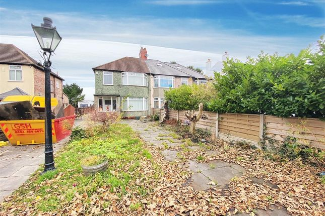 Driveway of Breckside Park, Anfield, Liverpool L6