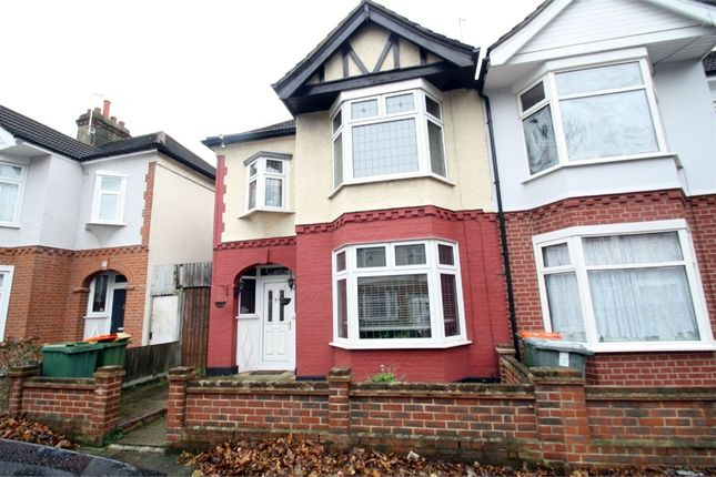 Thumbnail End terrace house for sale in Eustace Road, East Ham, London