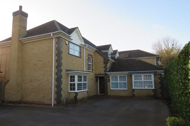 Thumbnail Detached house for sale in Tancred Close, Wootton, Northampton