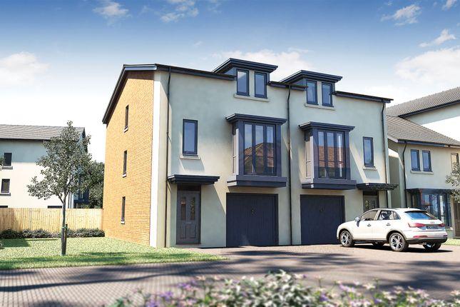 "Thumbnail Semi-detached house for sale in ""The Brunton Special"" at Prestbury Road, Prestbury, Cheltenham"