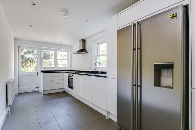 Thumbnail End terrace house to rent in Schubert Road, Putney, London
