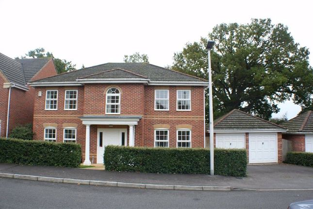 Thumbnail Detached house to rent in Woodavon Gardens, Thatcham