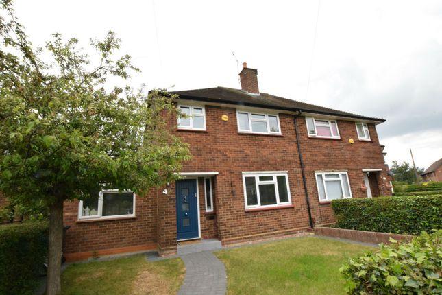 Thumbnail Semi-detached house for sale in Grovestile Waye, Feltham