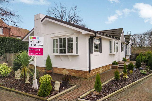 Thumbnail Mobile/park home for sale in Eastfield Park, Tuxford, Newark