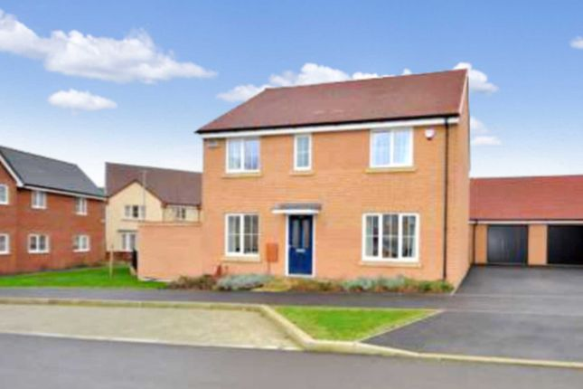Thumbnail Detached house for sale in Cranborne Avenue, Kingsmead, Milton Keynes