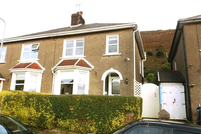 Thumbnail Semi-detached house for sale in The Uplands, Pen Y Cae, Port Talbot, West Glamorgan