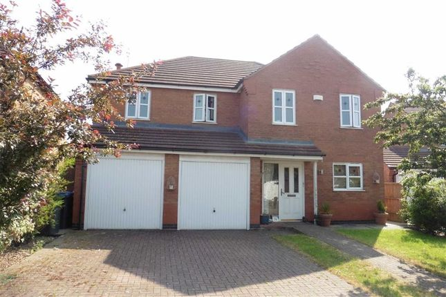 Thumbnail Detached house for sale in Florian Way, Hinckley