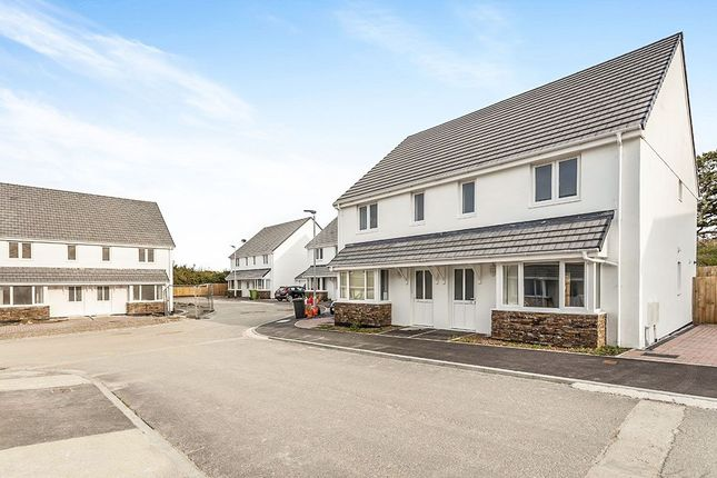 Thumbnail Semi-detached house for sale in Copper Meadows Relistian Lane, Gwinear, Hayle
