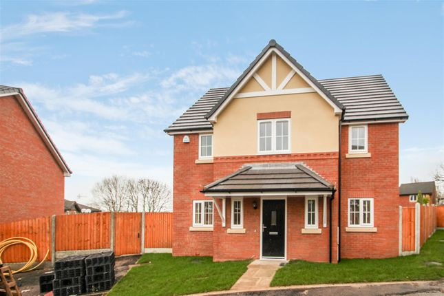 Thumbnail Detached house for sale in St Dominics Place, Hartshill, Stoke-On-Trent