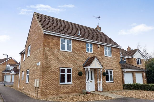 Thumbnail Detached house for sale in Ford Close, Yaxley, Peterborough