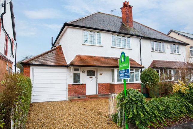 Thumbnail Semi-detached house for sale in St. James Road, Sutton
