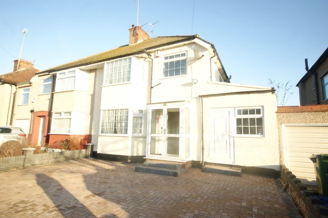 Thumbnail Semi-detached house to rent in Pinner Park Gardens, Harrow, Middlesex