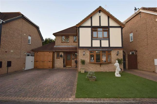 Thumbnail Detached house for sale in Hornbeam Way, Steepleview, Basildon, Essex