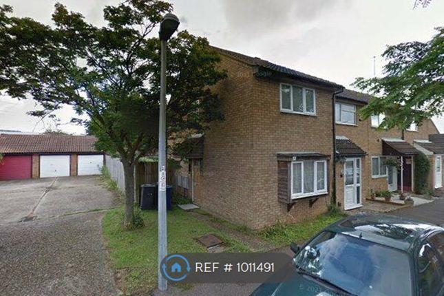 Thumbnail End terrace house to rent in Caravere Close, Cambridge
