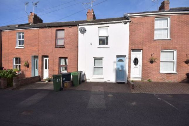 2 bed terraced house to rent in Greatwood Terrace, Topsham, Exeter EX3