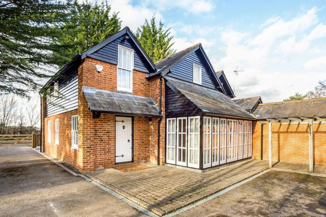 Thumbnail Detached house to rent in Hatchet Lane, Winkfield, Windsor