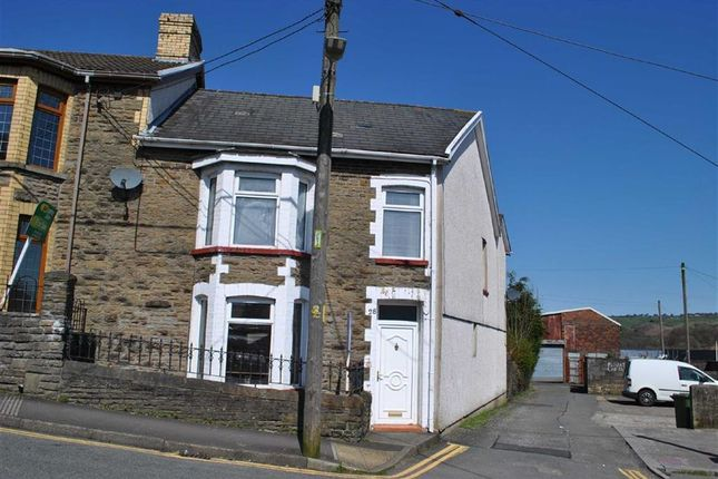 Thumbnail End terrace house for sale in Capel Street, Bargoed