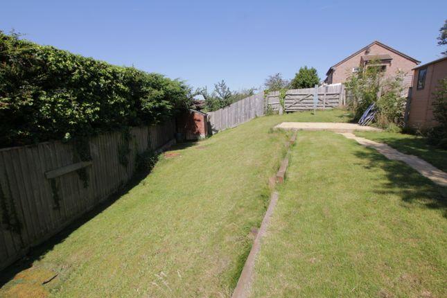 Rear Garden of Hollam Way, Kingsteignton, Newton Abbot TQ12