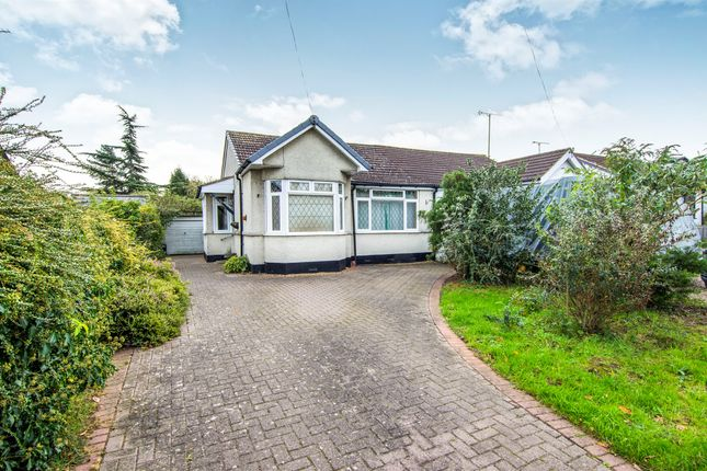 Thumbnail Semi-detached bungalow for sale in Chelmsford Road, Shenfield, Brentwood