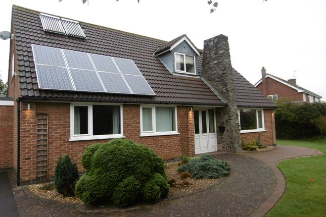 Thumbnail Detached bungalow for sale in Cropston Road, Anstey, Leicester