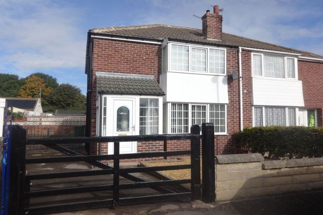 Thumbnail Semi-detached house to rent in Lynwood Close, Streethouse, Pontefract